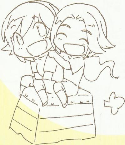 Yui and Ayumi Scan