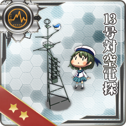 Type 13 Air Radar 027 Card