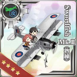 Swordfish Mk.III (Skilled) 244 Card