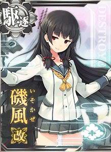 DD Isokaze Kai 320 Card