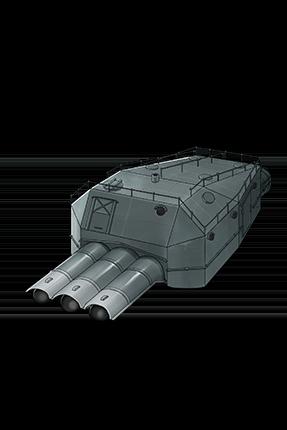 61cm Triple (Oxygen) Torpedo Mount 125 Equipment