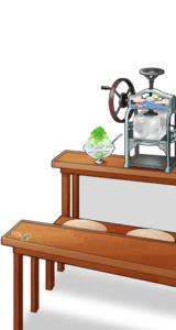 Commercial shaved ice maker