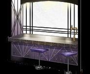 Anchorage counter bar