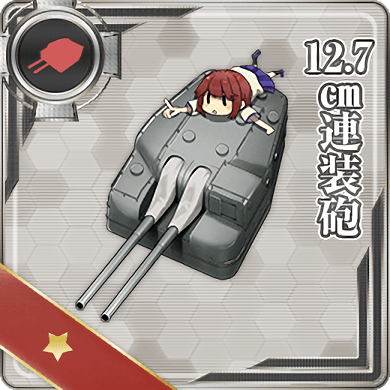 12.7cm Twin Gun Mount 002 Card