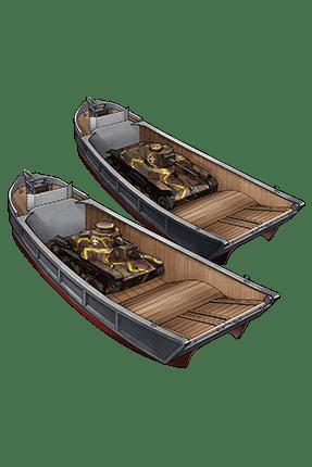 Toku Daihatsu Landing Craft + 11th Tank Regiment 230 Equipment