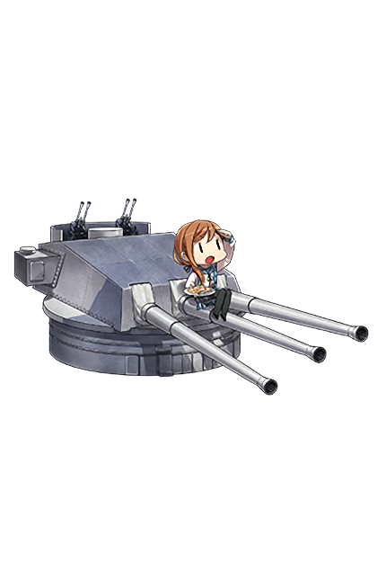 381mm 50 Triple Gun Mount Kai 137 Full