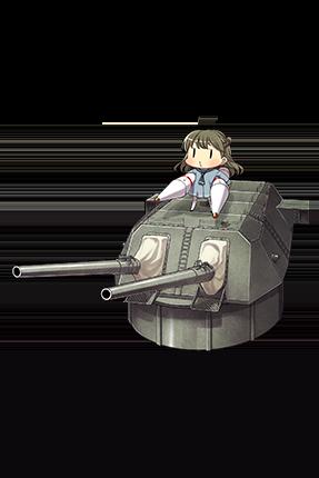 Prototype 46cm Twin Gun Mount 117 Full