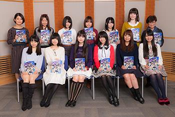 Anime cast comments