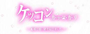 Marriage Banner(Smaller Width)