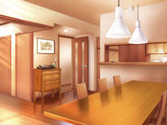 Minase Residence dining room