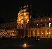 Paris - palais du Louvre, pavillon Richelieu