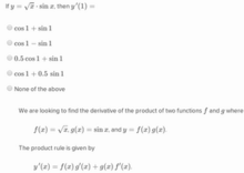 Derivatives of inverse functions2