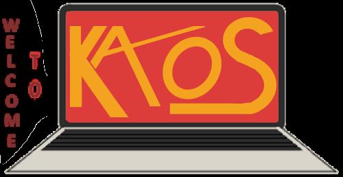 KAOS welcome screen PNG