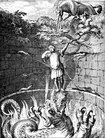 File:Barlaam & Ioasaph - Allegory of the man in the abyss Boetius Adam Bolswert.jpg