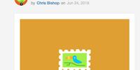 Very Small Bird Stamp