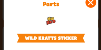 Wild Kratts Sticker