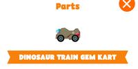Dinosaur Train Gem Kart