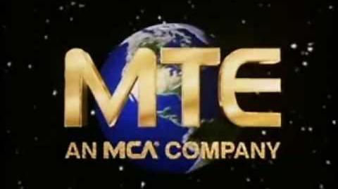 MTE Television Logo (1987)