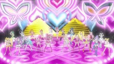 Precure all stars dx3 Opening HD