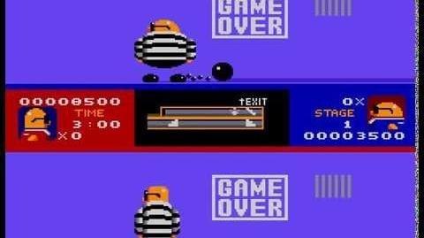 Game Over Bonanza Bros.
