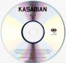 4813 White Album Promo CD - 2