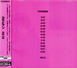 4813 CD Album (Japan) - 1