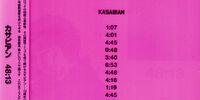 48:13 CD Album (Japan)