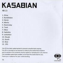 4813 White Album Promo CD - 3
