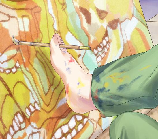 File:Rin painting foot.jpg