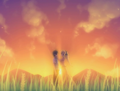 Lilly and Hisao in field.png