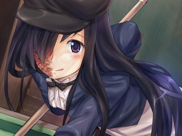 Hanako billiards smile close