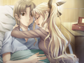 Lilly embraces Hisao.png