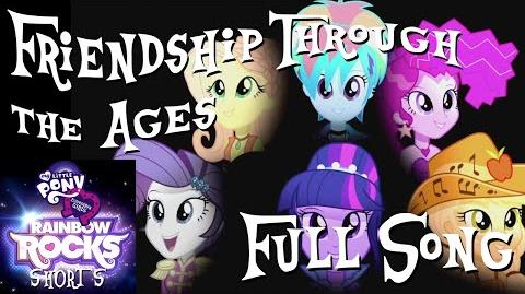 """Friendship Through the Ages"" - My Little Pony Equestria Girls - Rainbow Rocks Shorts"