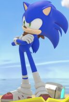 Sonic the Hedgehog Crossing His Arms (Sonic Boom Edition) 4