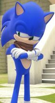 Sonic the Hedgehog Crossing His Arms (Sonic Boom Edition) 8