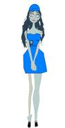 Emily in Anti-Pesto Uniform