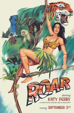Katy Perry Roar Poster
