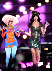 Katy Perry & Nicki Minaj
