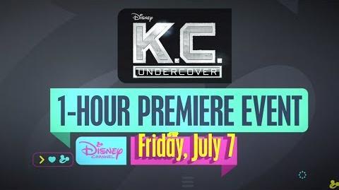 Season 3 Tease K.C. Undercover Disney Channel