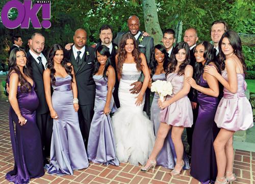 Gallery Enlarged Khloe Kardashian Lamar Odom Wedding Ok Magazine 1007090 Kardashians Jpeg