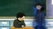 Yoshimori and the girl ghost