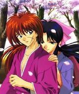 Kamiya and Kenshin