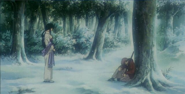 File:Tomoe and Kenshin in Reflections OVA.jpg