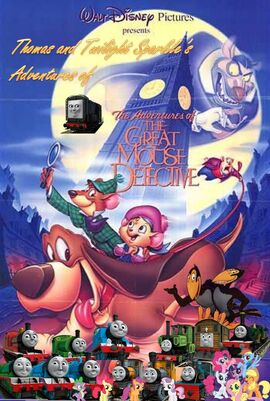 Thomas and Twilight Sparkle's Adventures of Basil the Great Mouse Detective