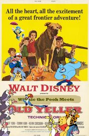 Winnie the Pooh Meets Old Yeller Poster