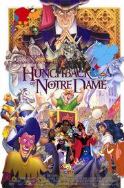 SpongeBob SquarePants Meets The Hunchback of Notre Dame Poster