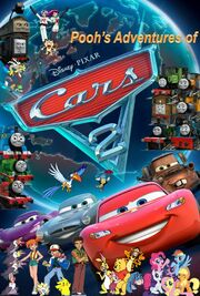 Pooh's Adventures of Cars 2 Poster