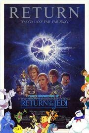Pooh's Adventures of Star Wars Episode VI Return of the Jedi Poster