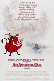 Timon and Pumbaa's adventures of An American Tail
