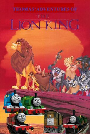 Thomas' Adventures of The Lion King Poster